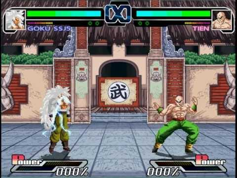 Dragon ball z mugen 2011 by ristar (arcade mode)