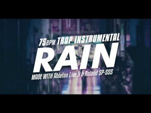 rain  sad trap instrumental 75bpm