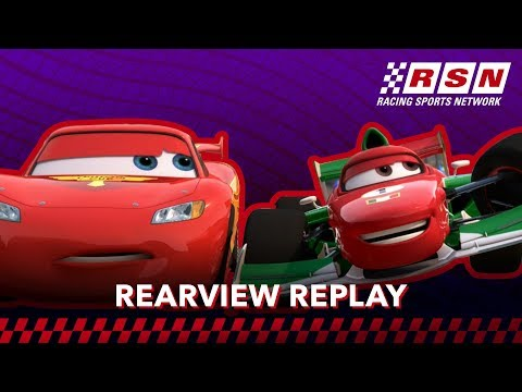Rearview Replay: World Grand Prix | Racing Sports Network by Disney•Pixar Cars