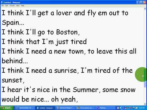 Boston Augustana~~ lyrics