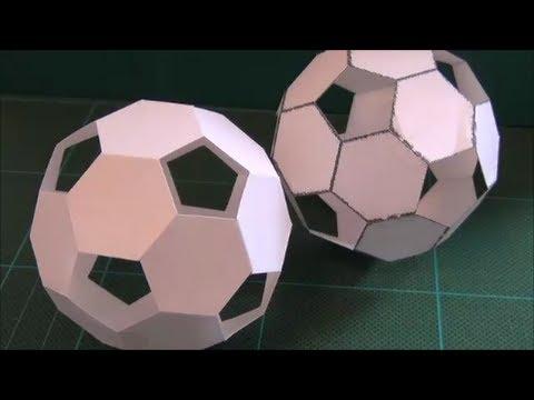 簡単 折り紙 サッカーボール 折り紙 : youtube.com