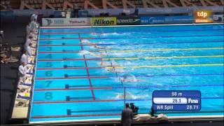 Mundial Barcelona. 100 espalda femenino - Missy Franklin