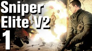 Sniper Elite V2 Walkthrough Part 1 - Tutorial