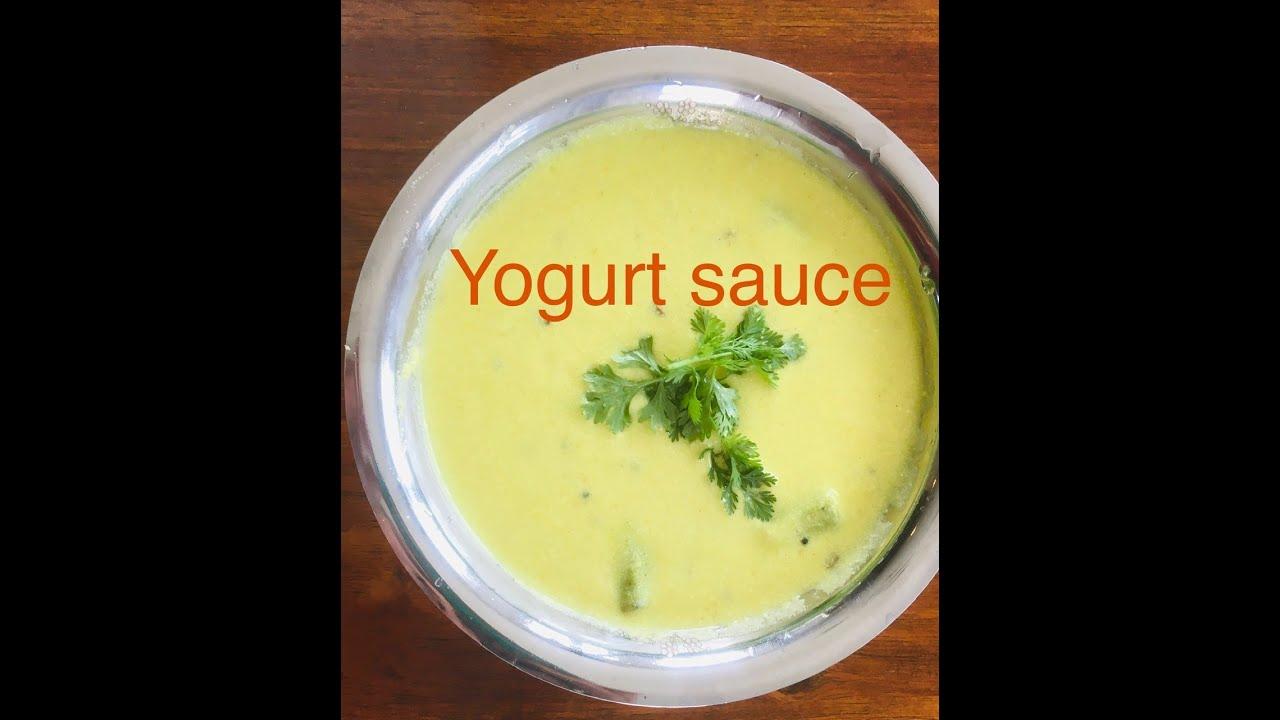 Mor Khozhumbu - Yogurt sauce