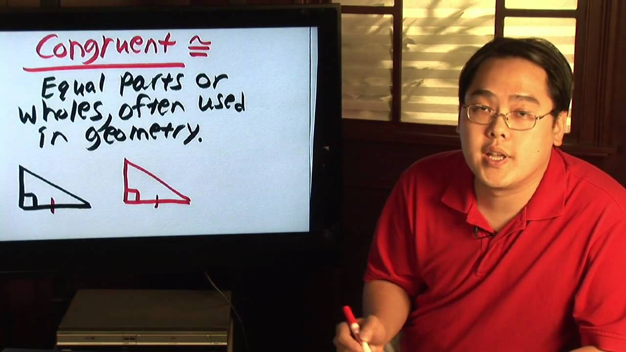 Geometry Tips What Is The Meaning Of Congruent Youtube