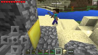 Minecraft PE: build nether reactor