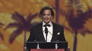 Johnny Depp Reveals Hilarious Way He Freaked Out Wife Amber Heard