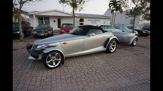 It's a total miracle that this 2000 Plymouth Prowler with a Factory Trailer was ever built - Review