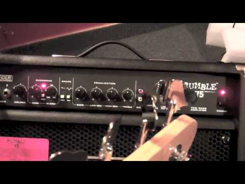 Fender Rumble 75 Bass Amp Review