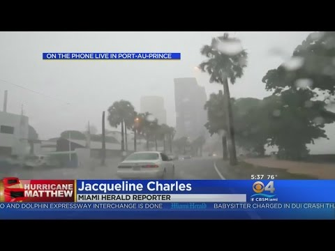 Hurricane Matthew Drenching Haiti