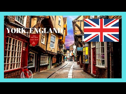 YORK, the medieval and HISTORIC STREET of 'THE SHAMBLES' (England)