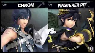 Echo Fighters - Chrom vs. Dark Pit - Super Smash Bros. Ultimate