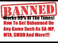 [Tutorial] How To Get UNBANNED In 1 Minute On Any Online PC Game! [Works On Almost Every Game]