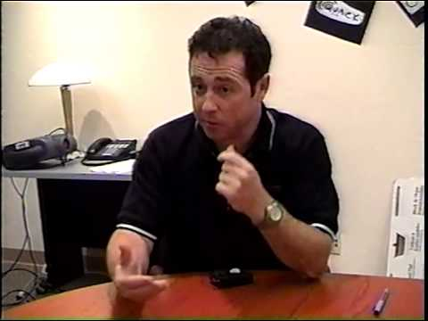 Quack.com Interview (raw footage) with Steven Woods, CTO circa 2000