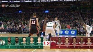 Boston Celtics vs Miami Heat Full Game Highlights - NBA Season 2019