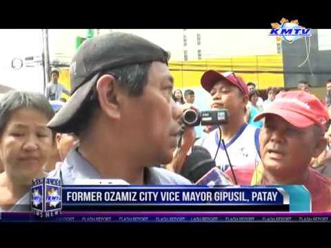 OZAMIZ CITY: Former Ozamiz City Vice Mayor Roland Romero gipusil, patay! November 17, 2016