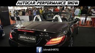 Mercedes SLC43 AMG CONVERTING   AutoCar performance SHOW 2017 BKC