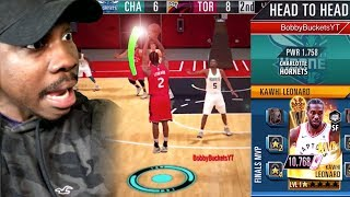 QJB vs BOBBY BUCKETS In REAL TIME PvP! NBA 2K Mobile Gameplay Ep. 32