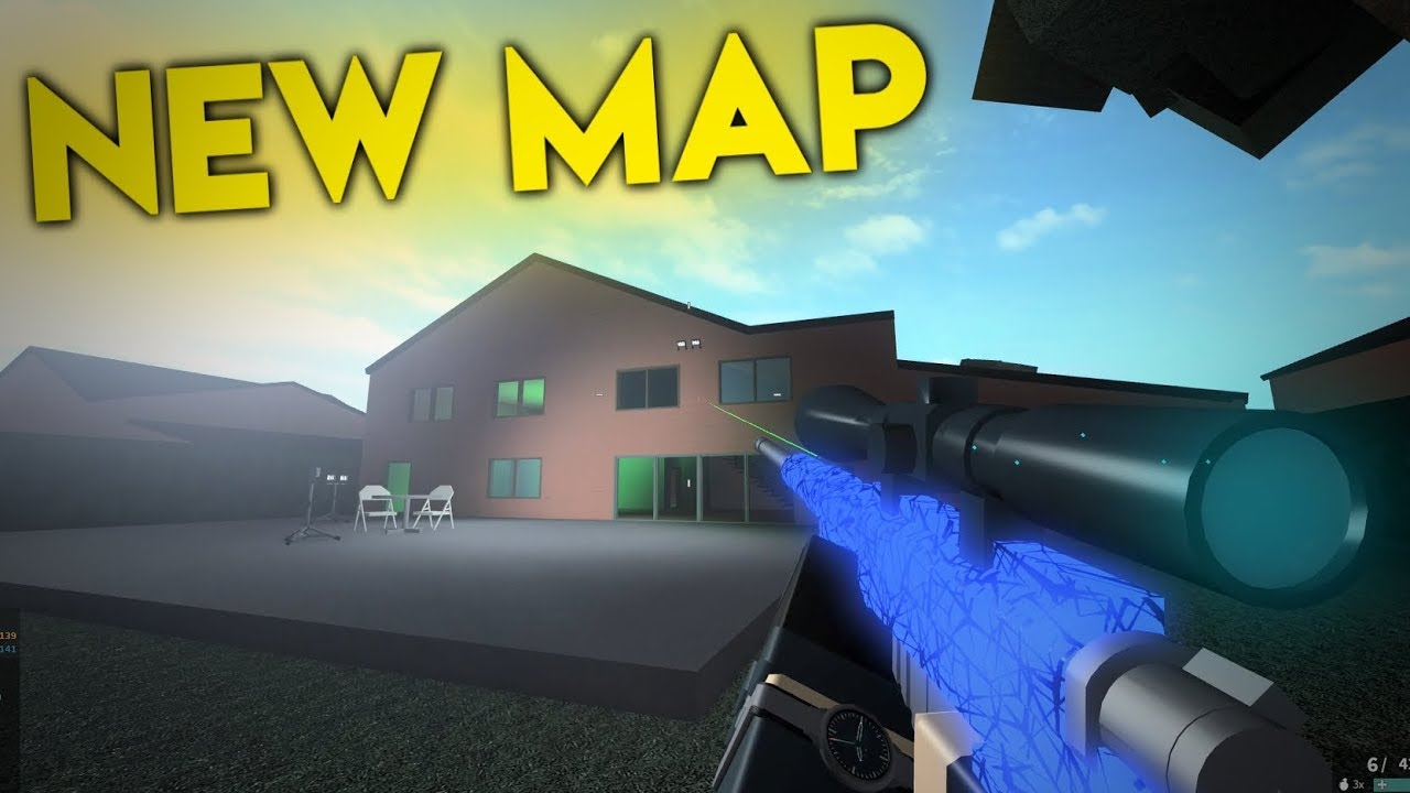 Nuketown In Roblox Phantom Forces Youtube
