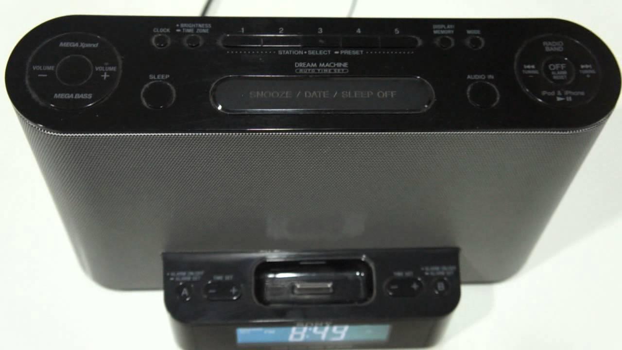 b169cc8188e Dockstation Sony Icf-cs10ip Iphone