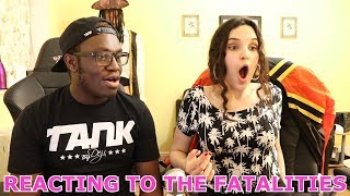 REACTING TO THE FATALITIES