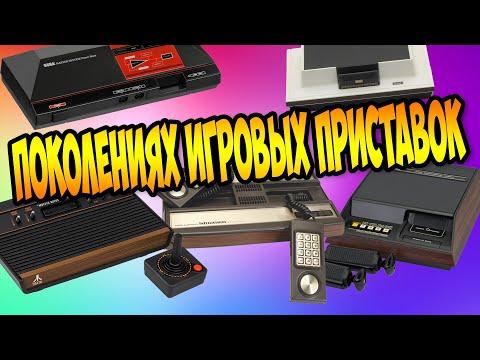 Какие были раньше игровые консоли / От первого до четвертого поколения