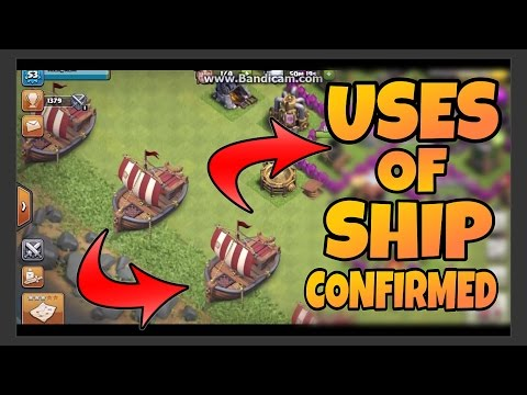 Thumbnail: Uses of SHIP in Clash of Clans - Unofficial Sneak Peaks May 2017