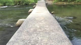 新・櫛田川の 沈下橋(松阪市 御麻生薗町 〜 多気町 牧)