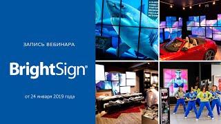 Медиаплееры BrightSign 4-й серии: обзор обновленного функционала и анонс новинок ISE