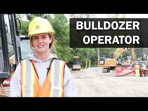 Job Talks - Bulldozer Operator, Larissa Talks About Moving Dirt And Her Apprenticeship Process