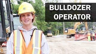 Job Talks - Bulldozer Operator, Larissa Talks About Moving Dirt and Her Apprenticeship Process