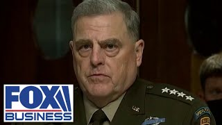 Generals Milley, Austin, McKenzie openly contradict Biden in testimony