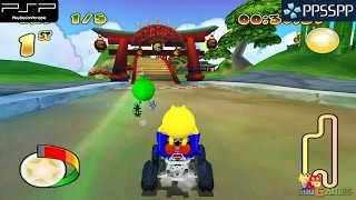 Pac-Man World Rally - PSP Gameplay 1080p (PPSSPP)