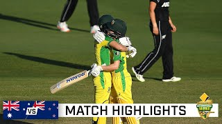 Lanning leads Aussies to 20th straight ODI win | CommBank ODI series vs New Zealand
