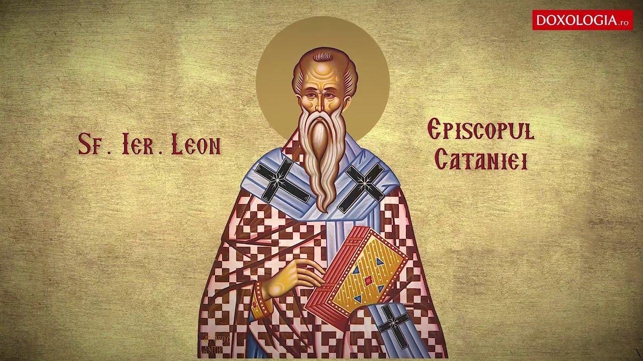 Imagini pentru Sfantul Leon,episcopul Cataniei photos