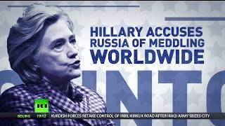 Hillary Clinton still accusing Russia of election meddling thumbnail