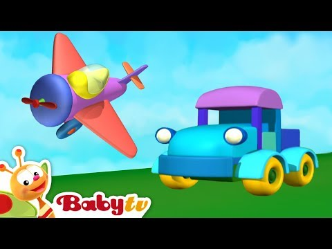 Like Vehicles? Red, Blue and Yellow Cars, Trucks, Trains and more   BabyTV