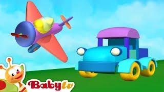 Like Vehicles? Red, Blue and Yellow Cars, Trucks, Trains and more | BabyTV