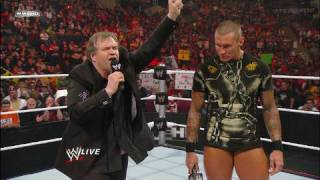 Randy Orton meets Meat Loaf