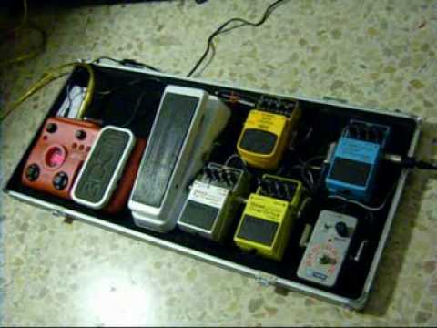 dunlop crybaby bass wah 105q on pedalboard youtube. Black Bedroom Furniture Sets. Home Design Ideas