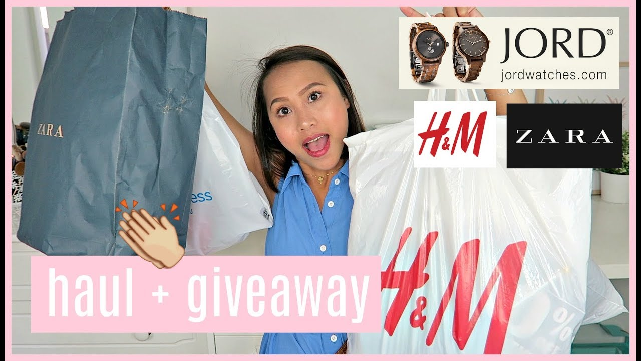 MORE PASALUBONG + PA BIRTHDAY HAUL + GIVEAWAY! ❤️ | rhaze