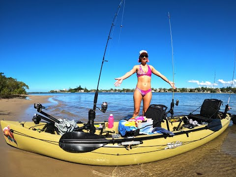 Hobie Oasis Mirage Drive Our New Kayak, First Test And Fish.