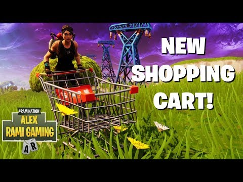 new-shopping-cart-gameplay-refund-skins-in-fortnite-new-fortnite-update-fortnite-live