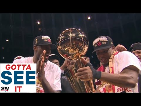 GOTTA SEE IT: Toronto Raptors Celebrate First Ever NBA Championship