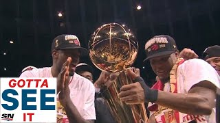 Download GOTTA SEE IT: Toronto Raptors Celebrate First Ever NBA Championship Mp3 and Videos