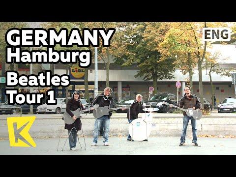 【K】Germany Travel-Hamburg[독일 여행-함부르크]비틀즈 투어 1 상 파울리 비틀즈 광장/Beatles Tour 1/St.Pauli Beatles Square