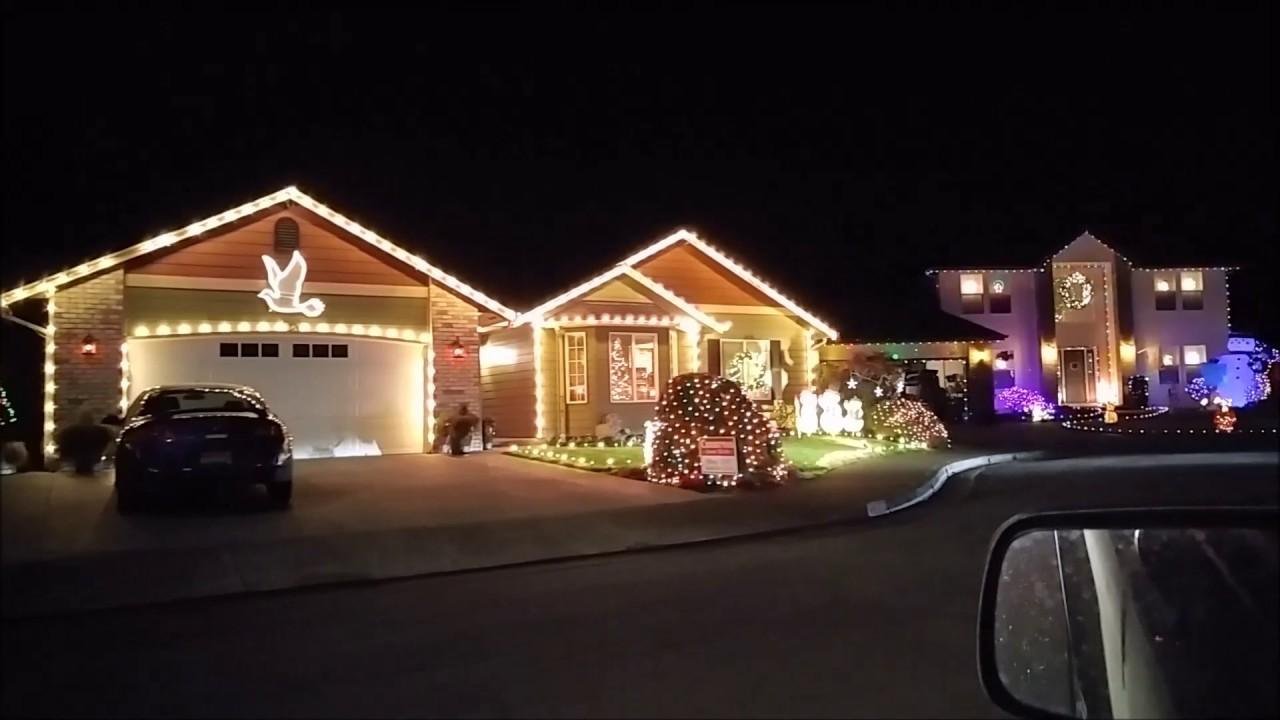 Keizer Oregon Christmas Lights - YouTube