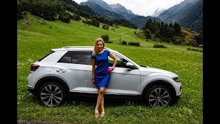 VOLKSWAGEN T-ROC - a sweet battle with Golf Video
