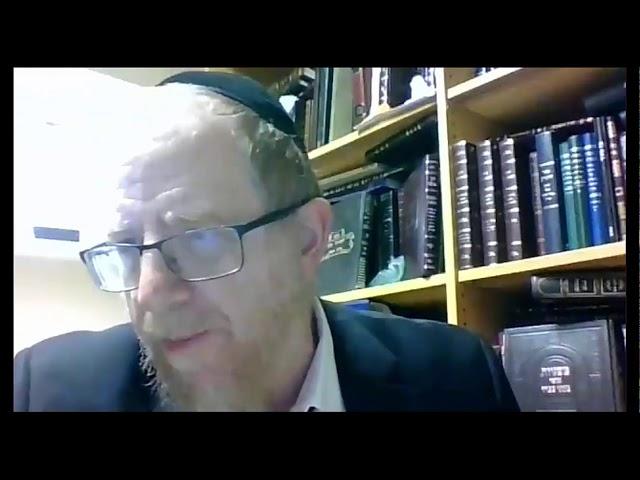 Rabbi Luban Chol Hamoed Pesach Shiur