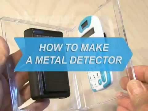 come costruire un metal detector fatto in casa